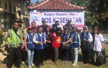 Lombok Disaster relief 2018